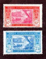 Cote D'ivoire N°81,82 N* TB Cote 28 Euros !!! - Unused Stamps