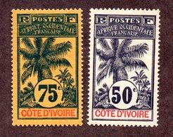 Cote D'ivoire N°31,32 N* TB Cote 40 Euros !!! - Unused Stamps
