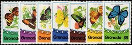 Grenada 1975 Butterflies Unmounted Mint. - Grenada (1974-...)