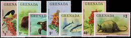 Grenada 1976 Flora And Fauna Unmounted Mint. - Grenada (1974-...)