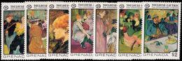 Grenada 1976 Toulouse Lautrec Unmounted Mint. - Grenada (1974-...)