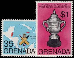 Grenada 1976 Cricket Unmounted Mint. - Grenada (1974-...)