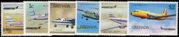 Grenada 1976 Airplanes Unmounted Mint. - Grenada (1974-...)