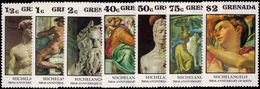 Grenada 1975 Michelangelo Unmounted Mint. - Grenada (1974-...)