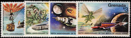Grenada 1979 Jules Verne Unmounted Mint. - Grenada (1974-...)