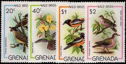 Grenada 1980 Wild Birds Unmounted Mint. - Grenada (1974-...)