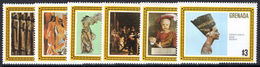 Grenada 1980 Famous Works Of Art Unmounted Mint. - Grenada (1974-...)
