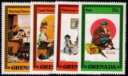 Grenada 1982 Norman Rockwell Unmounted Mint. - Grenada (1974-...)