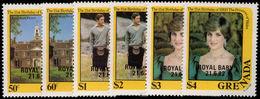 Grenada 1982 Royal Baby Unmounted Mint. - Grenade (1974-...)