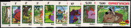 Grenada 1982 Christmas. Disney Robin Hood Unmounted Mint. - Grenada (1974-...)
