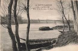 31 Carbonne Bords De La Garonne Et Le Pont Cachet 1918 - France