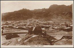 General View, Aden, C.1920 - Benghiat RP Postcard - Yemen
