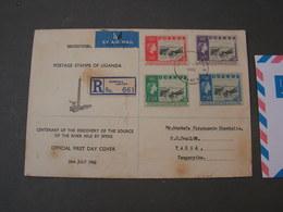 Uganda 1962 Cv, FDC ?? - Uganda (1962-...)