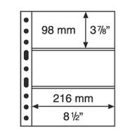 Leuchtturm Blankoblätter Klar Grande 3C (5 Stück Neu (M11 - Blankoblätter
