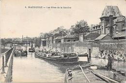 59 MAUBEUGE - Les Rives De La Sambre - Péniches - Maubeuge