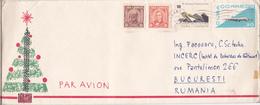 Cuba 1966 Circulated Cover To Romania, Airmail - Cuba