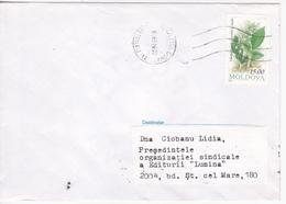 1999, Moldova  Moldavie , Moldawien , Moldau , Flowers , Used Cover - Moldova