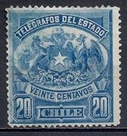 Chile  1900-05 - Telegrafos Del Estado - Chile