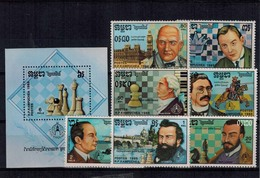 25052019-0001 MINT POSTFRIS ¤ ¤ - SCACCHI - ECHECS - CHESS -SCHAKEN - Chess