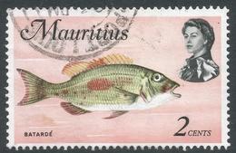 Mauritius. 1969 Sealife. 2c Used. SG 382 - Mauritius (1968-...)