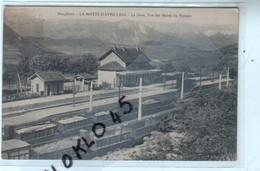 38 LA MOTTE D' AVEILLANS ( Isère ) - La Gare , Vue Des Monts Du Vercois - Vue Plongeante Wagons - CPA - Other Municipalities