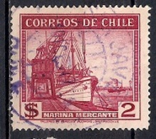 Chile  1942 - Local Motives - Ship - Chile