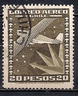 Chile  1944-53 - Airmail - Local Motives - Chile