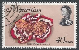 Mauritius. 1969 Sealife. 40c Used. SG 484 - Mauritius (1968-...)