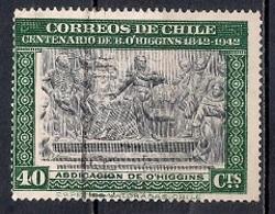 Chile  1945 - The 100th Anniversary Of The Death Of Bernardo O'Higgins, 1778-1842 - Chile