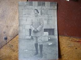 92  Neuilly S/ Seine    Carte-photo  Henri Doussier   Officier  Prisonnier à Gutersloh - Guerre 1914-18