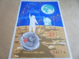 Miniature Sheet 1969 Apollo 11 - Mongolia