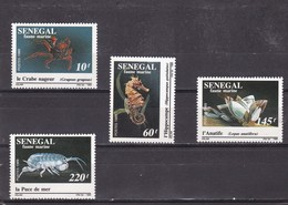 Senegal Nº 826 Al 829 - Senegal (1960-...)