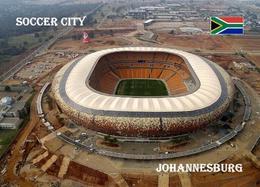 South Africa Johannesburg Soccer City Stadium New Postcard Stadion AK Südafrika Stadion AK - Football