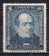 Chile  1945 - The 100th Anniversary Of The Death Of Bernardo O'Higgins, 1778-1842 MINT - Chile