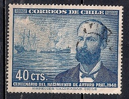 Chile  1948 - The 100th Anniversary Of The Birth Of Prat Chacon - Chile
