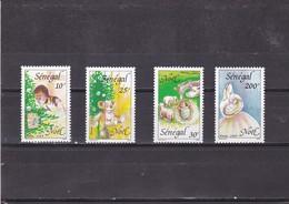 Senegal Nº 848 Al 851 - Senegal (1960-...)