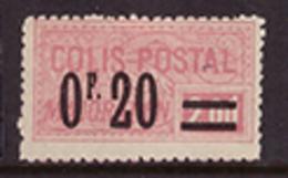-France Colis Postaux  34** - Neufs
