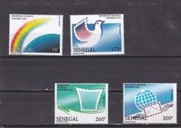 Senegal Nº 1085A Al 1085D - Senegal (1960-...)
