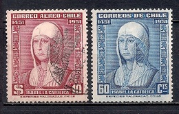 Chile  1952 - The 500th Anniversary Of The Birth Of Isabella The Catholic, 1453-1504 - Chile