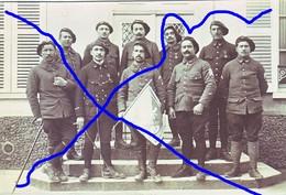 Armée Française 12 BCA Chasseurs  Cie De Mitrailleuses 1917 (3) - Krieg, Militär