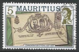 Mauritius. 1978 Definitives. 5r Used. SG 545A - Mauritius (1968-...)