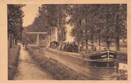 PIE.CHA-19-5244 : MENNETOU SUR CHER. LE CANAL DU BERRY. LE CHALAND. PENICHE. - Sin Clasificación