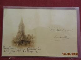 CPA - Honfleur - Clocher De L'Eglise Ste-Catherine - Honfleur