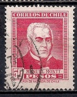 Chile  1956 - Personalities - Chile