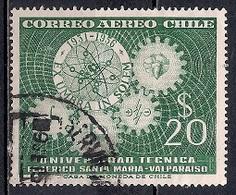 Chile  1956 - The 25th Anniversary Of Santa Maria Technical University, Valparaiso - Chile