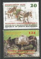 MK 2019-04, FAUNA DOKEY, 1 X 2v, MNH - Mazedonien