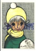 Petite Fille. Signée De Witte. 1972 - Illustrateurs & Photographes