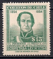 Chile  1957 - Omar Pacheco - Chile