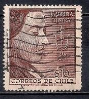 Chile  1958 - Gabriela Mistral, Poetess, Nobel Prize Winner, 1889-1957 - Chile