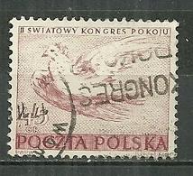 POLAND Oblitéré 587-588 Colombe De La Paix Picasso Oiseau Bird - Oblitérés